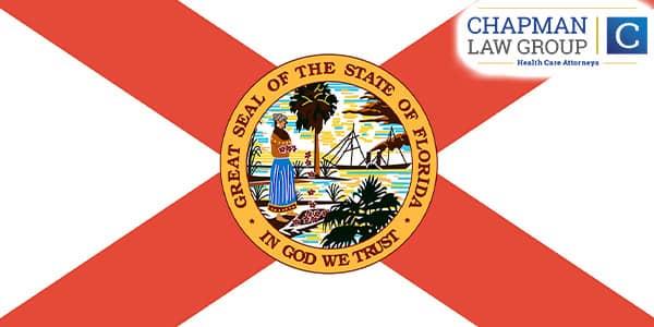 Image of the Florida flag.