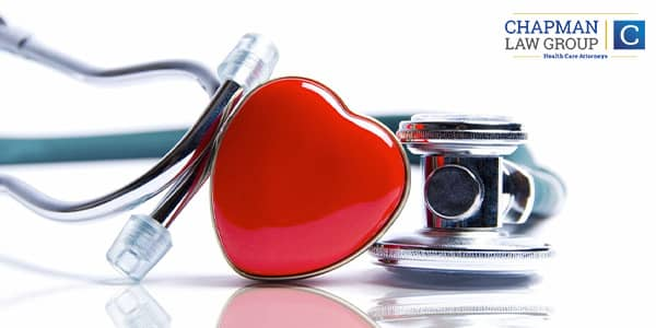Image of a heart and a stethescope.