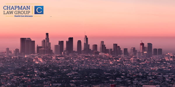 Los Angeles and Southern California where Chapman Law Group practices healthcare law.